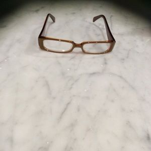 Anthropologie Gold/Yellow Reading Glasses